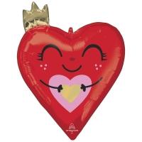 ILY сердце с короной