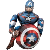"""Ходячий """"Капитан Америка"""""""