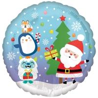 Дед Мороз и звери