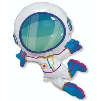 Космонавт летящий