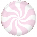 Конфета розовая