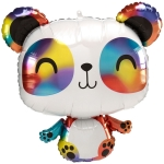 Панда разноцветная