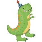 Динозавр в колпаке