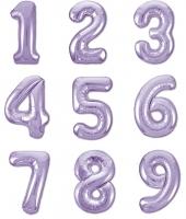 Цифры лиловые